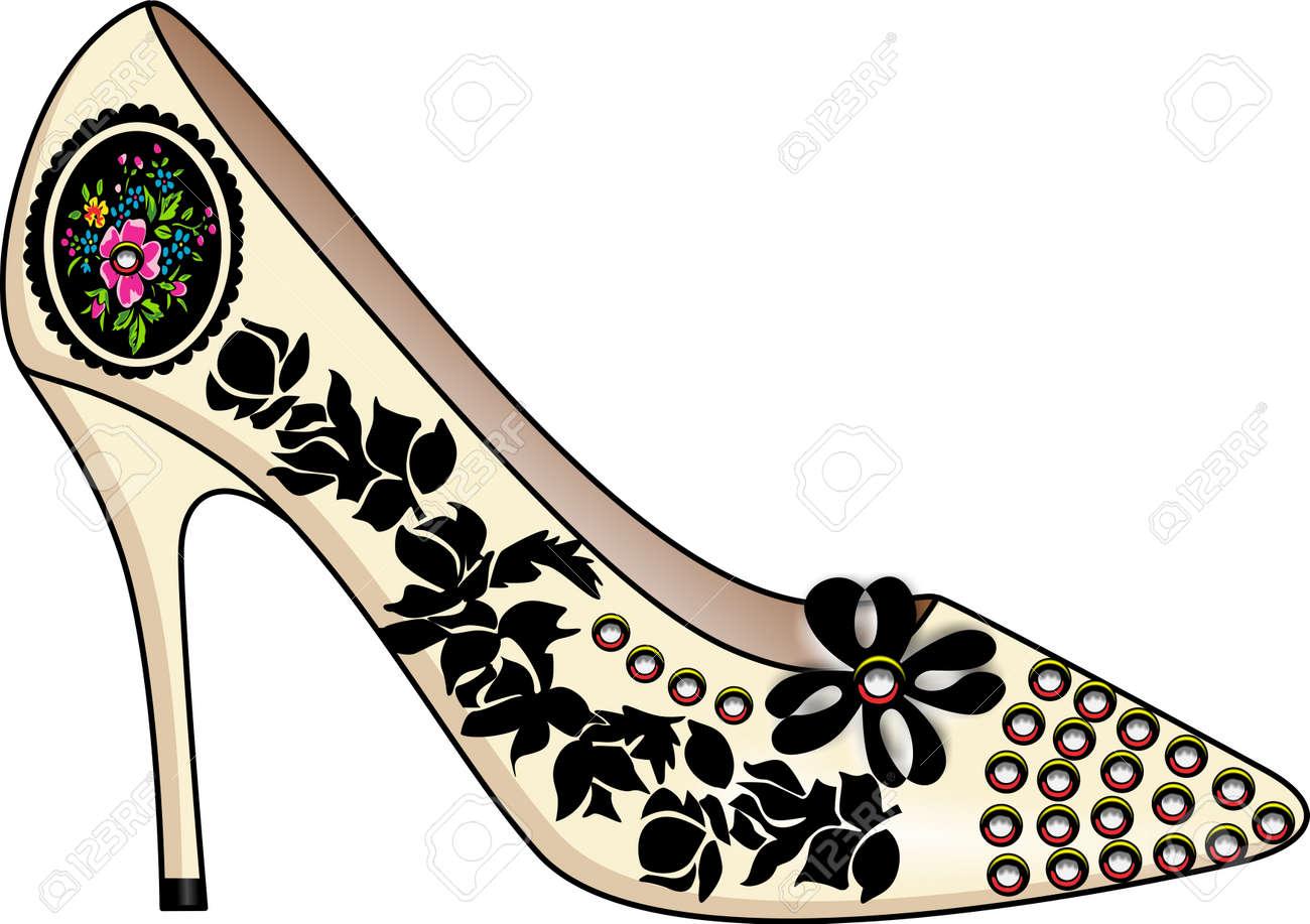 Shoe fashion Stock Vector - 11323808