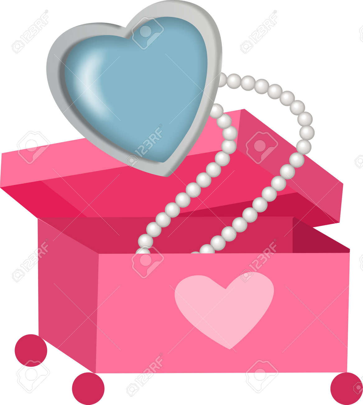 Pearl Necklace Stock Vector - 12024256