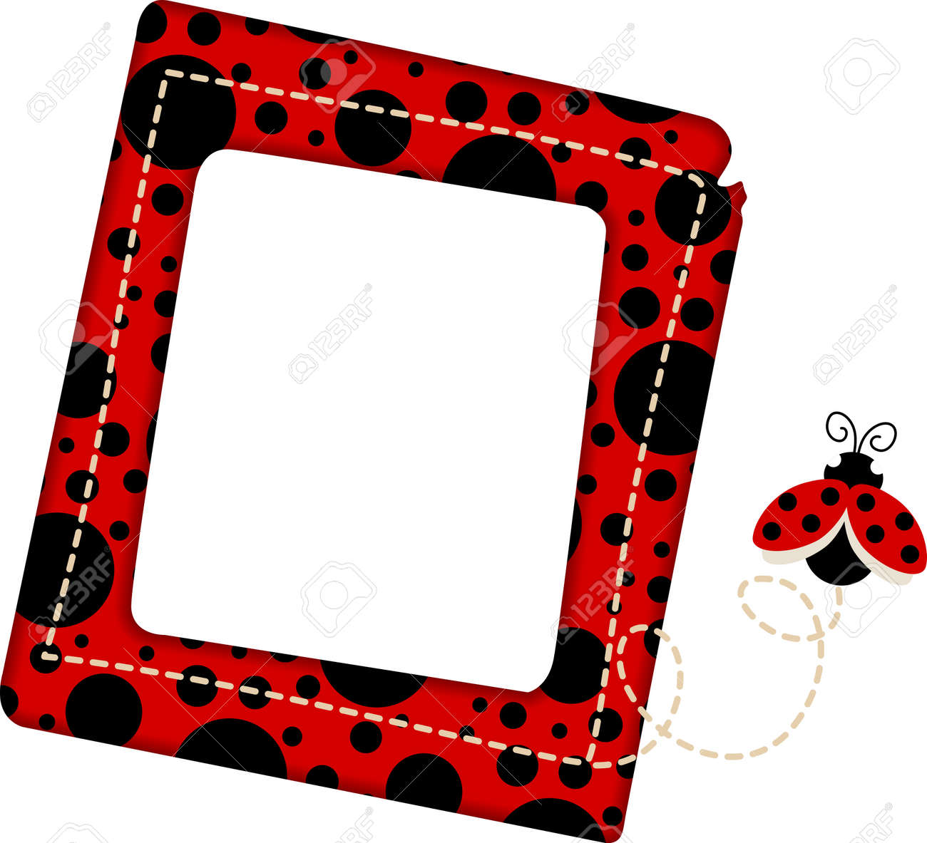 Ladybug Frame Royalty Free Cliparts, Vectors, And Stock Illustration ...