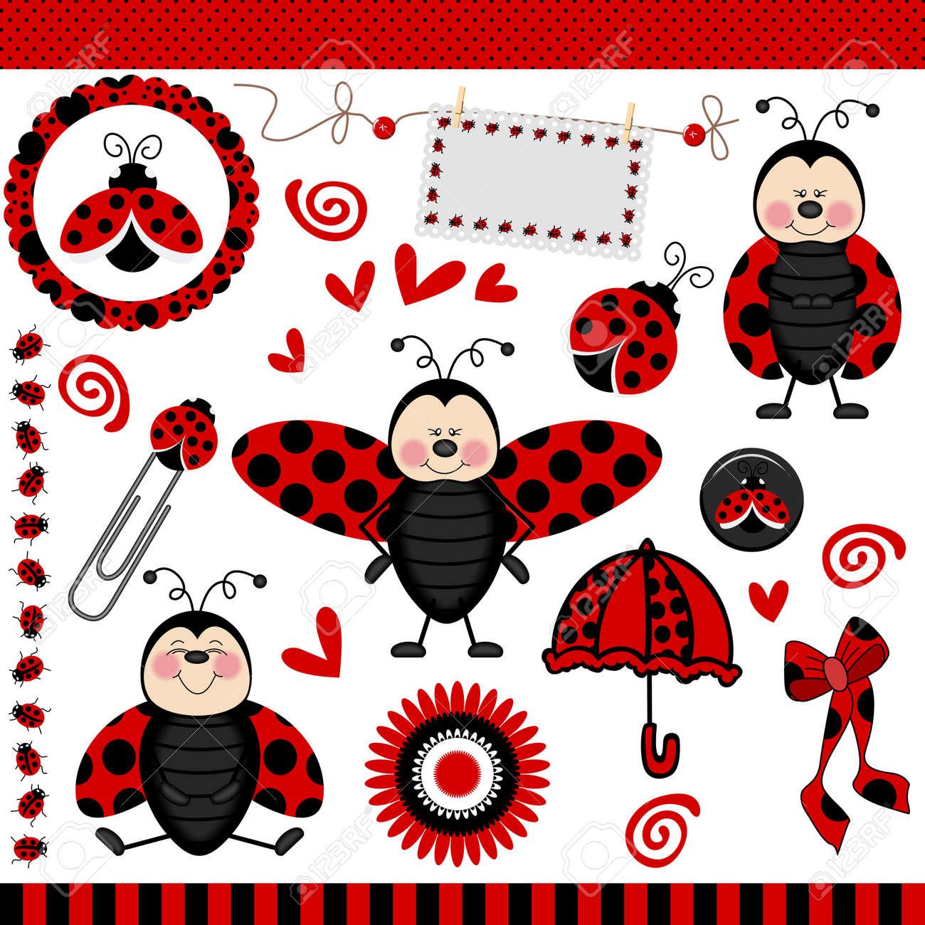 Ladybug Digital Scrapbook - 14125889