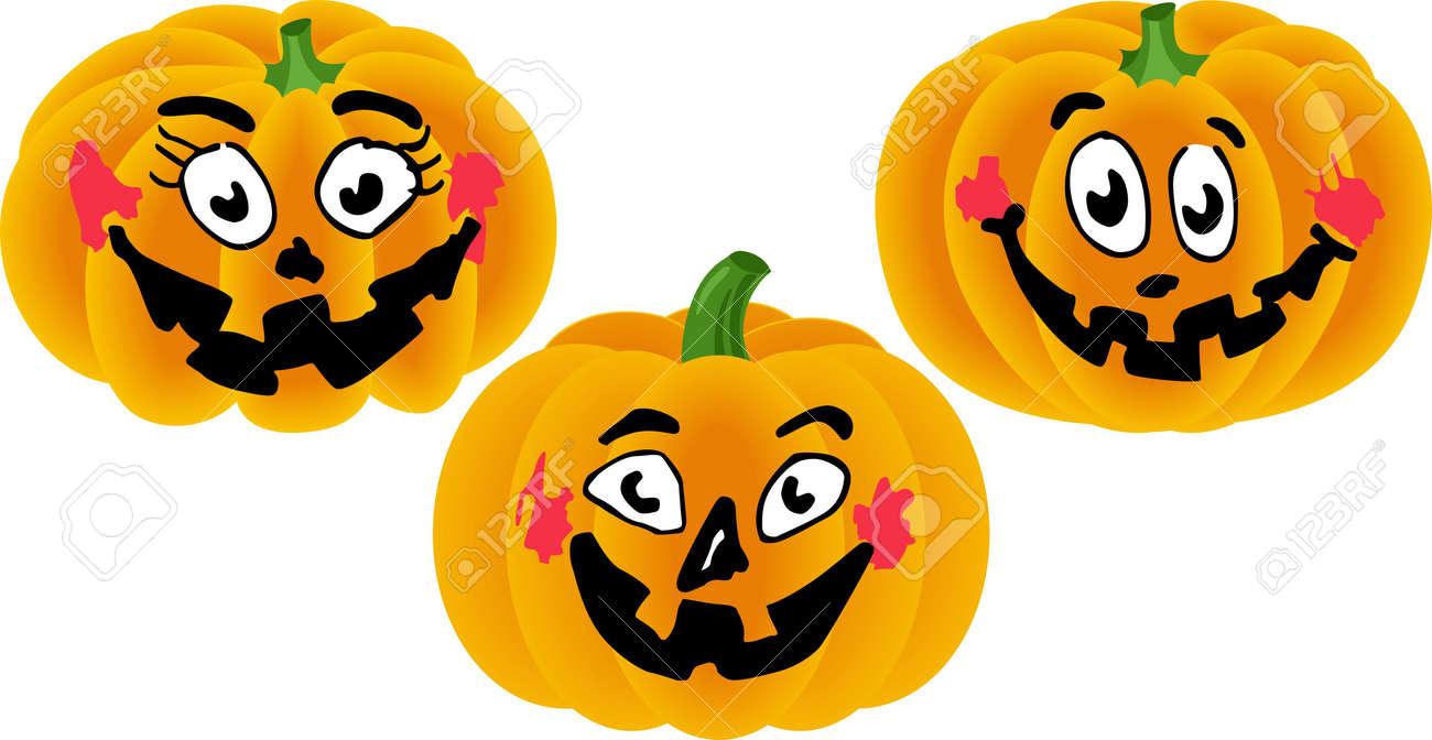 Halloween Pumpkins Stock Vector - 14403057