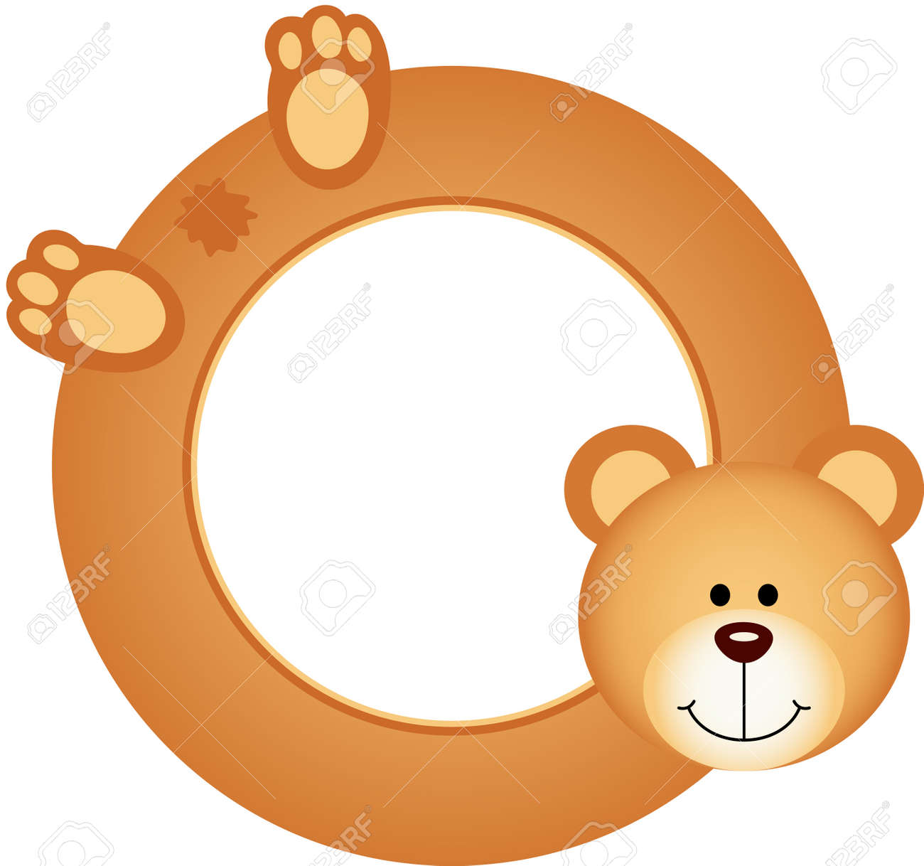 Teddy Bear Frame Royalty Free Cliparts, Vectors, And Stock ...