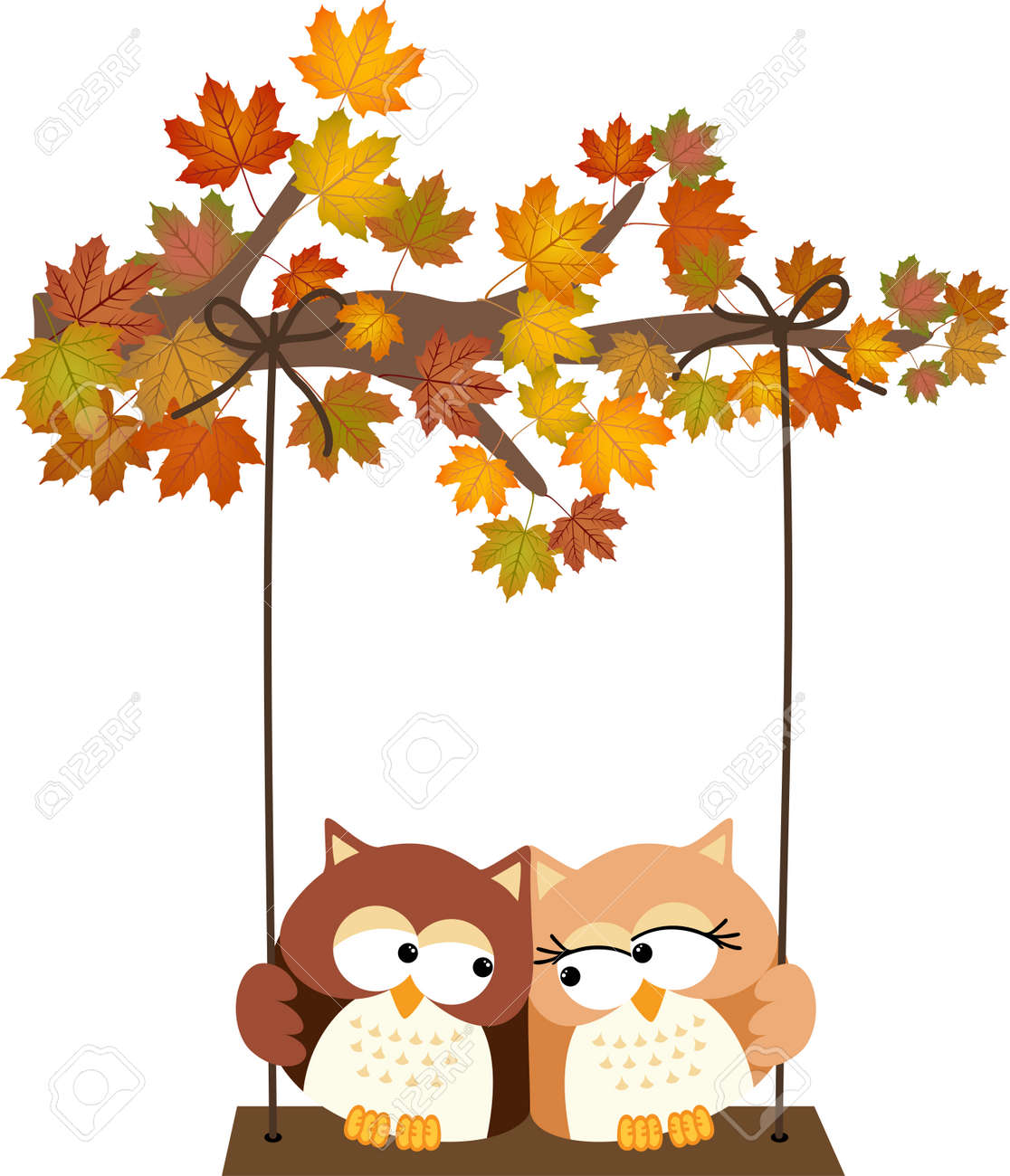 Fall tree cartoon images — img 2