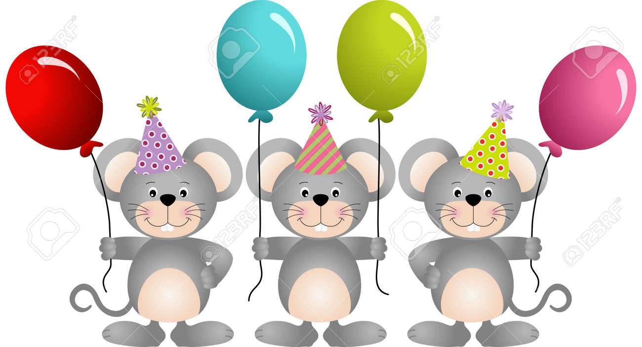 Luftballons-ClipArt. Aquarell-Ballon-Clipart. Geburtstag | Etsy