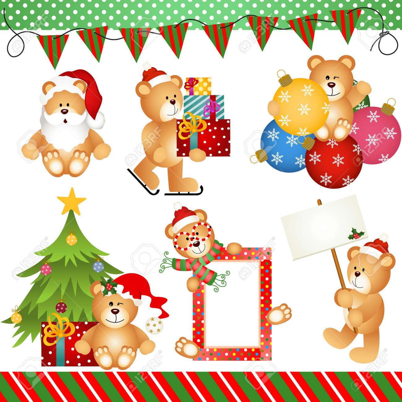 Bilder Weihnachten Clipart.Stock Photo