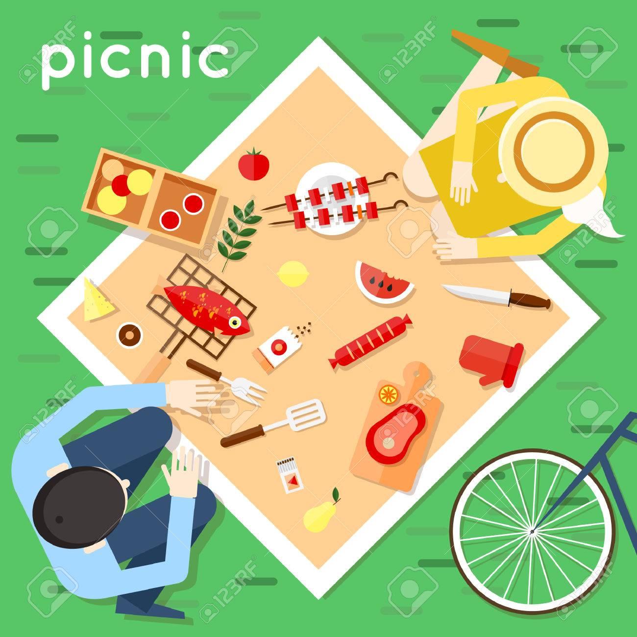 15,047 Picnic Food Cliparts, Stock Vector And Royalty Free Picnic ...