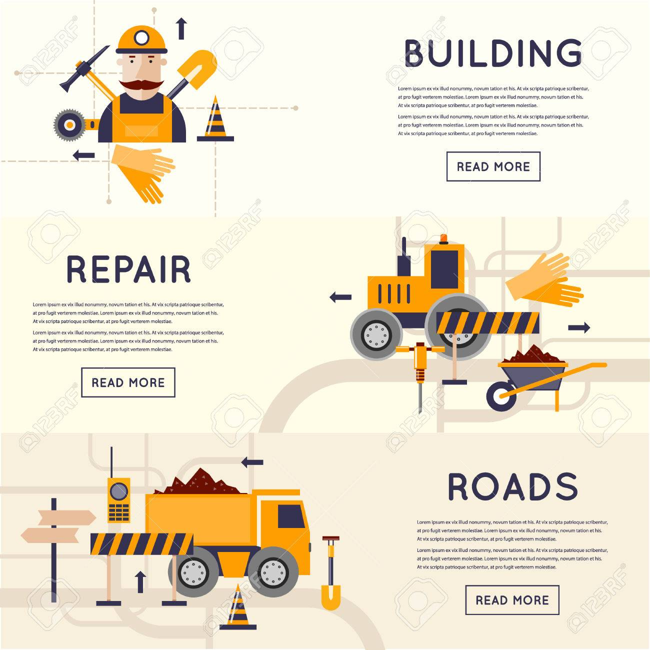 Construction Equipment Banners Guest Banners