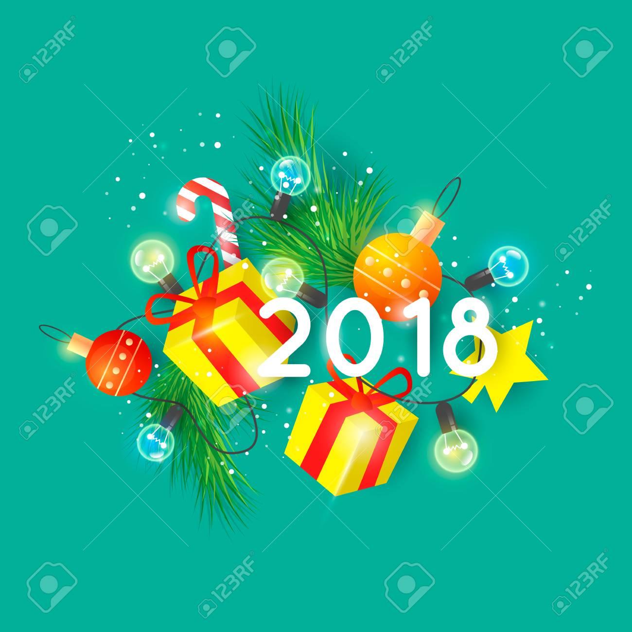 Happy New Year Flat Design 10