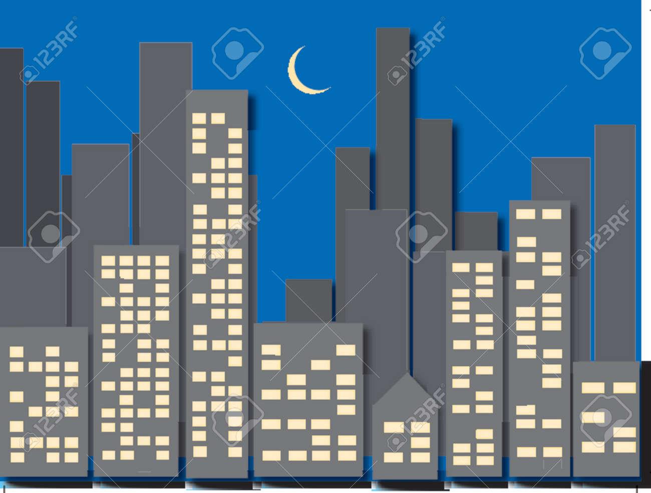 Cityscape Stock Vector - 490659