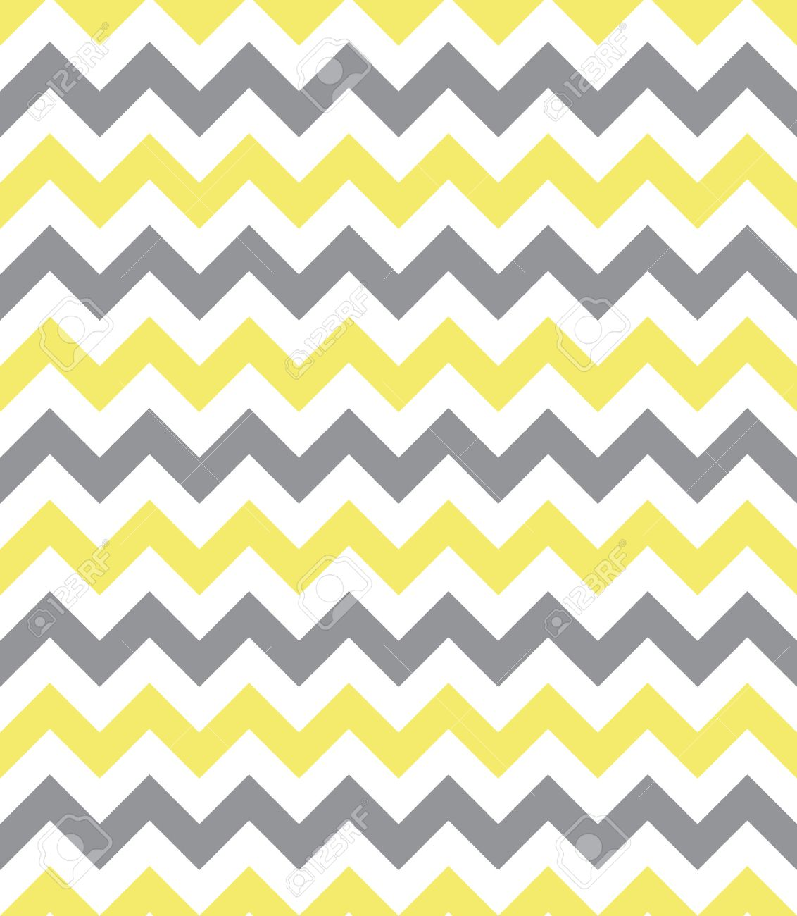 Seamless chevron pattern, yellow and grey Stock Vector - 33706627