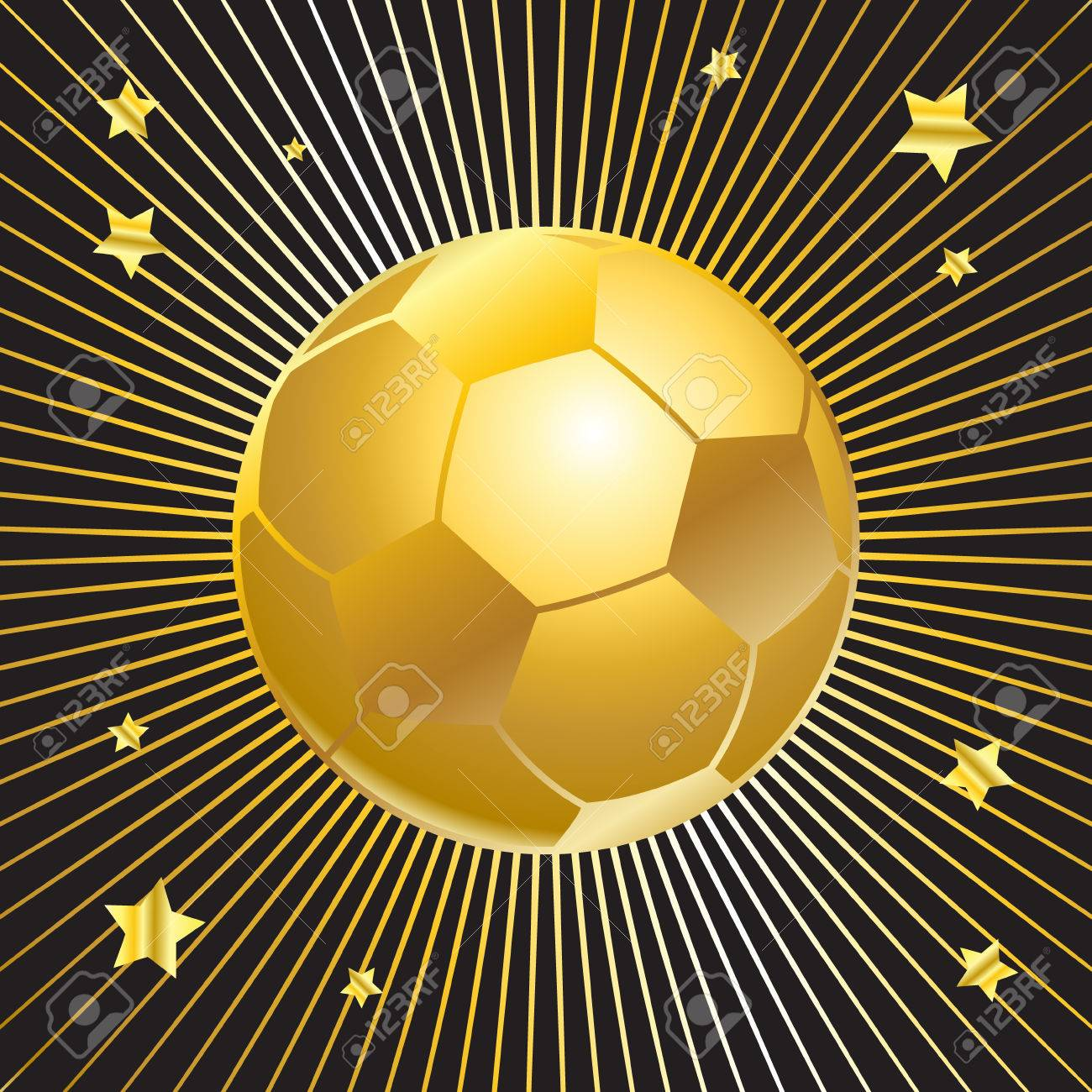 Ball Soccer Ball Football Ball Soccer Ball Winner Gold Soccer Royalty Free Cliparts Vectors And Stock Illustration Image 64865892