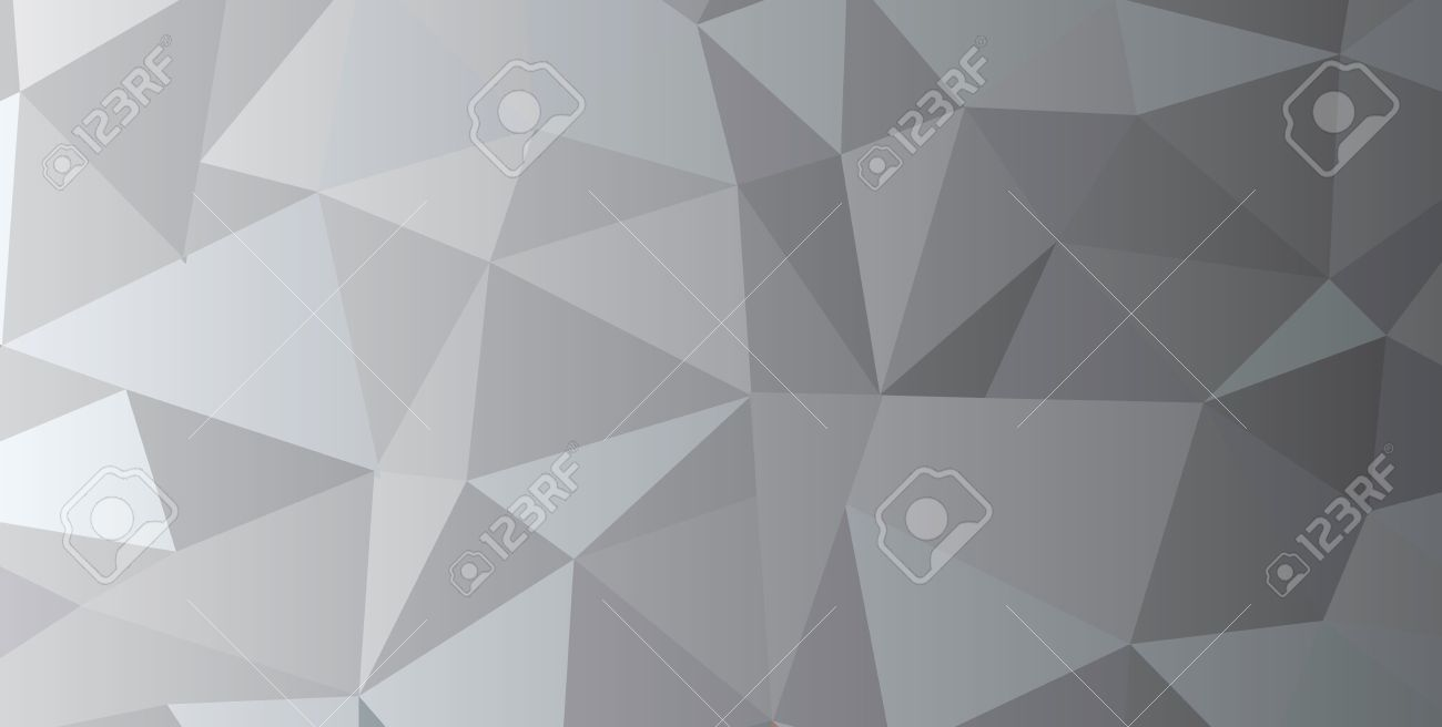 Triangle Abstract Geometric Pattern Triangles Modern Wallpaper Silver Foil Texture Vector Illustration