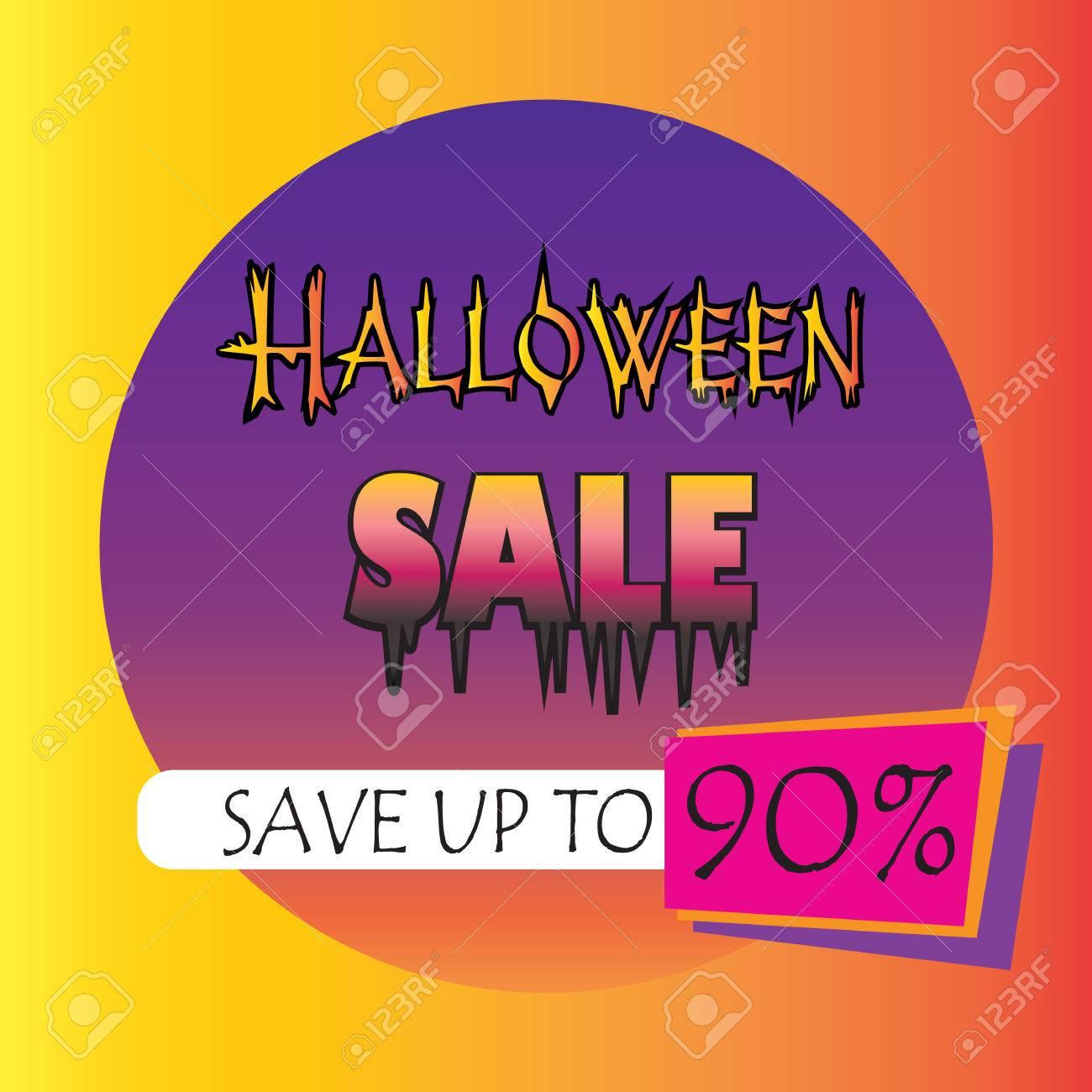 Halloween sale logo advertising halloween special offer sale halloween sale logo advertising halloween special offer sale voucher invitation gift card stopboris Choice Image