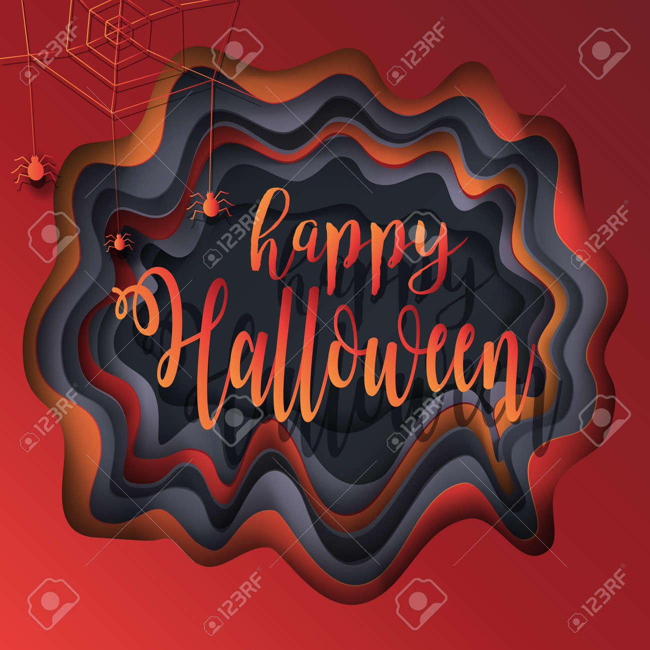 Free Art Abstract Halloween