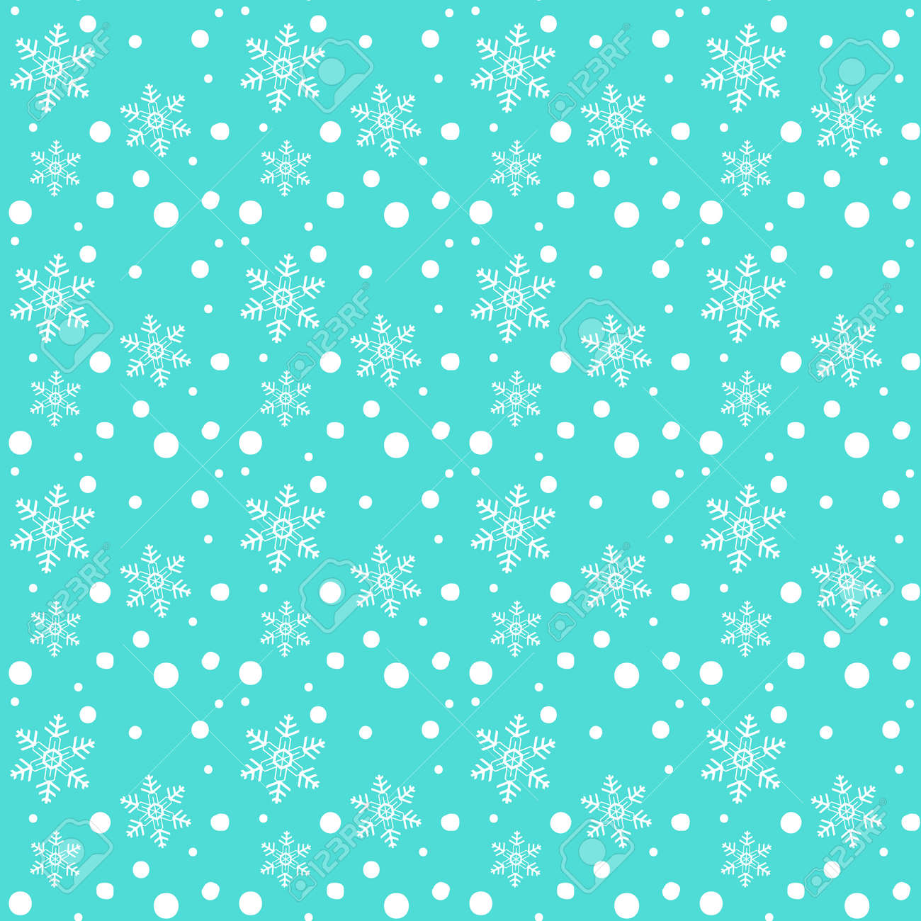 Abstract Winter White Snowflakes Falling Seamless Pattern Christmas Royalty Free Cliparts Vectors And Stock Illustration Image 90103031