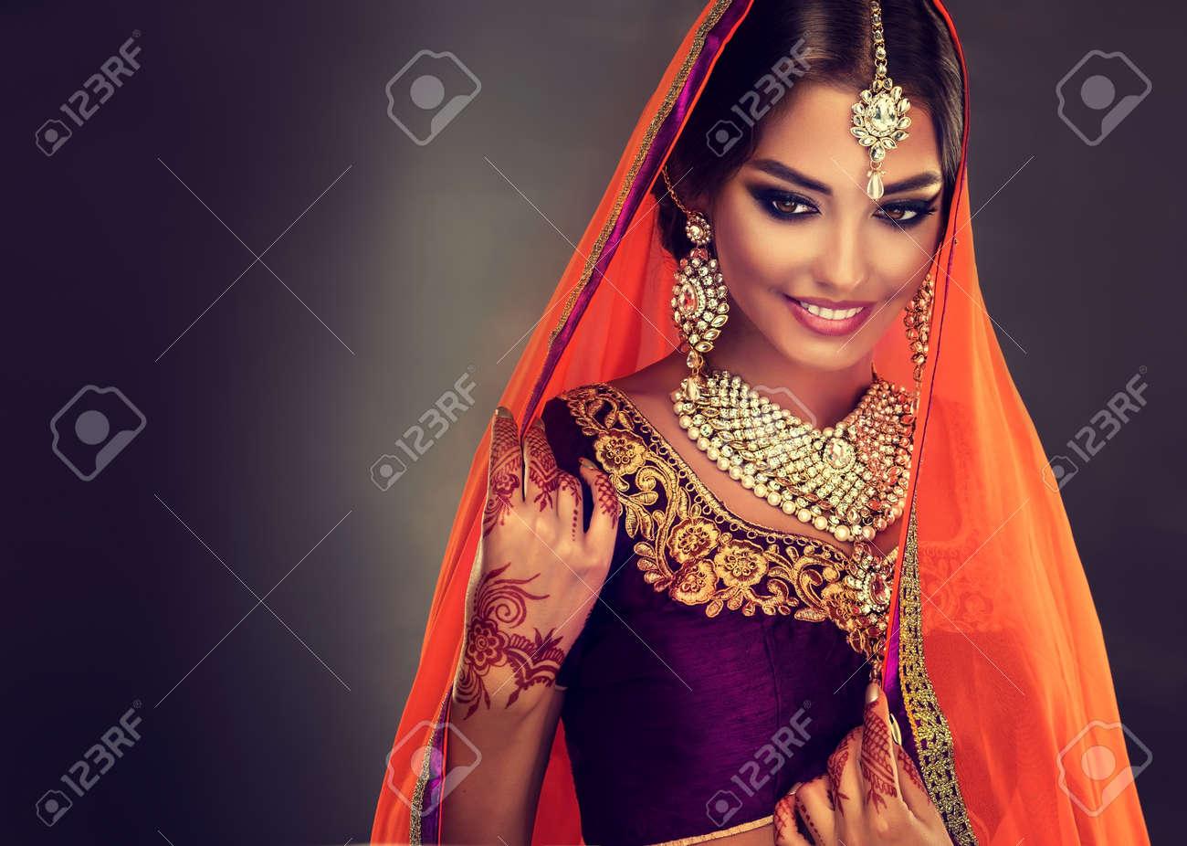 Traje hindu para mujer