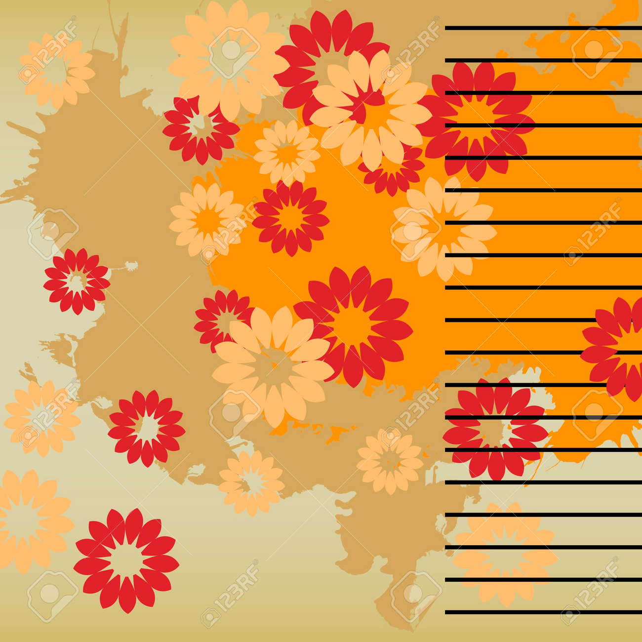 art vintage pattern background Stock Photo - 13015931