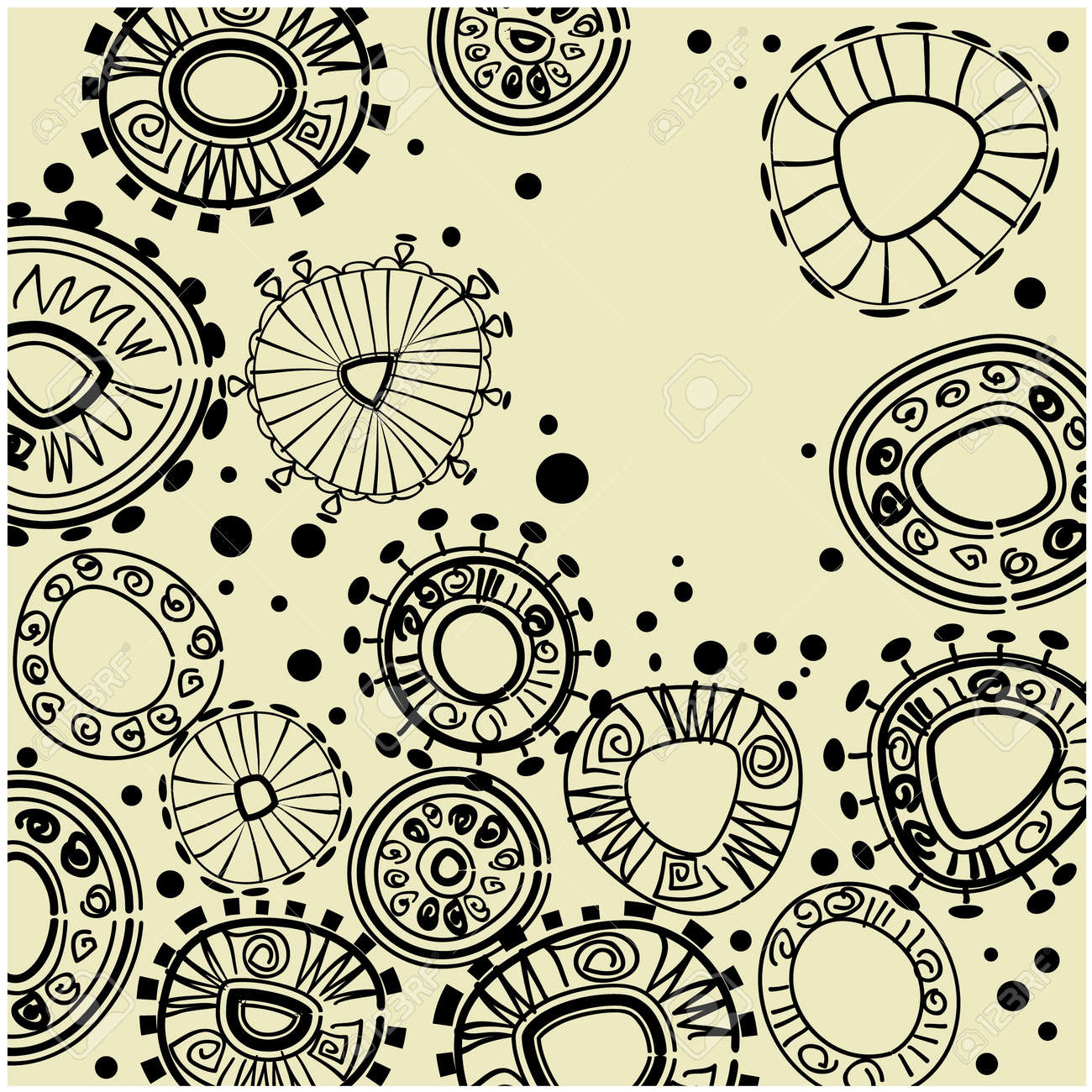 art vintage pattern background Stock Photo - 13122234