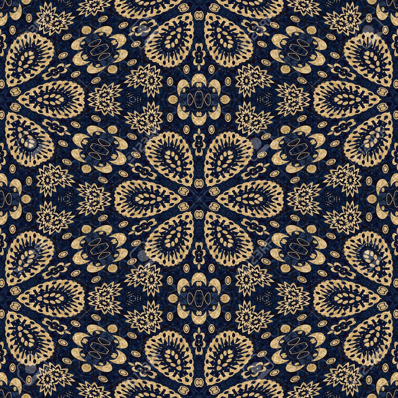 art vintage damask seamless pattern background Stock Photo - 13984910