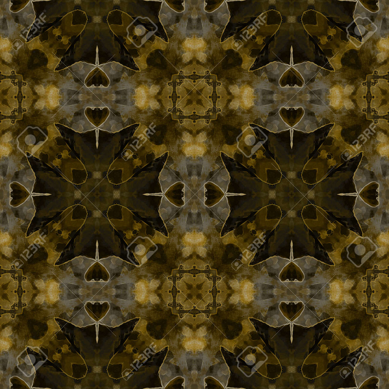 art nuvo colorful ornamental vintage pattern Stock Photo - 15060952