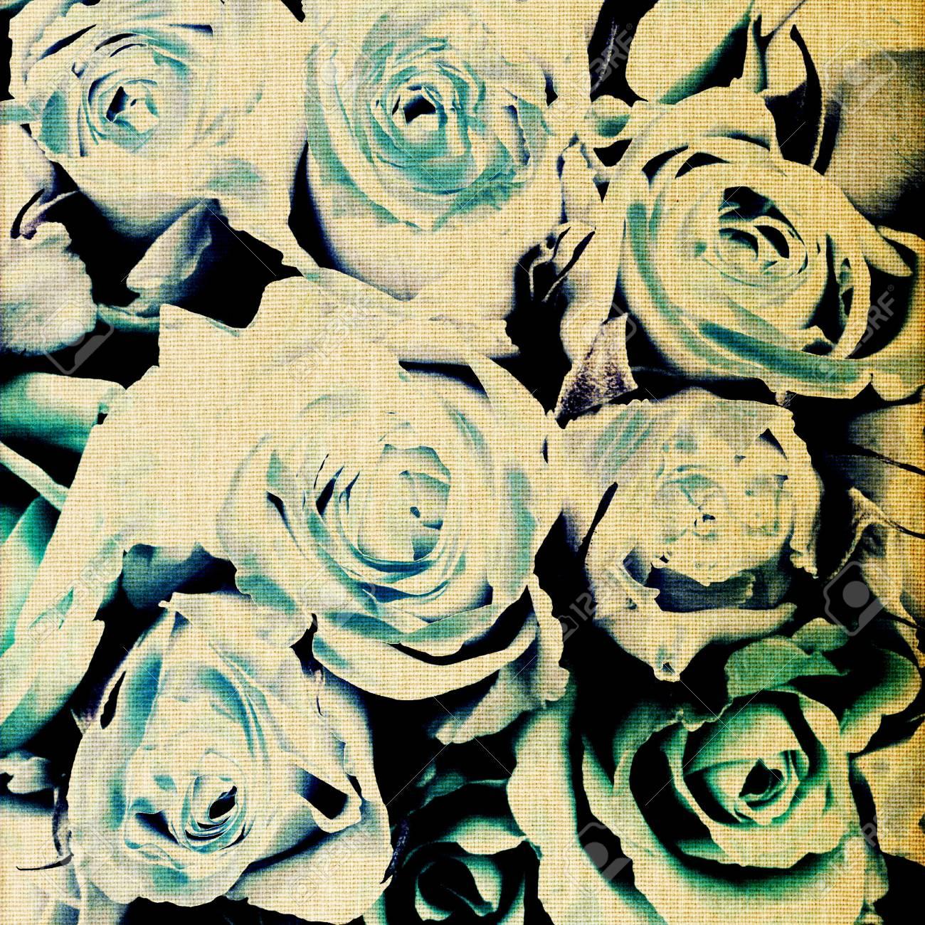 art floral vintage colorful background Stock Photo - 17387817
