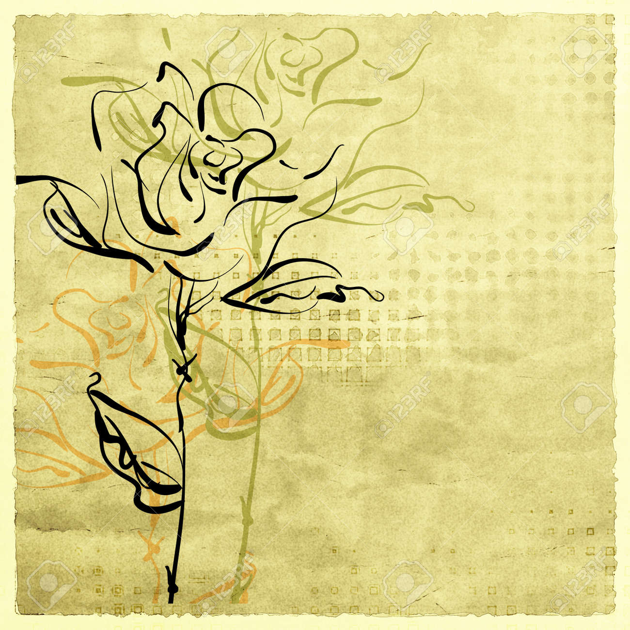 Art Sketches Of Flowers