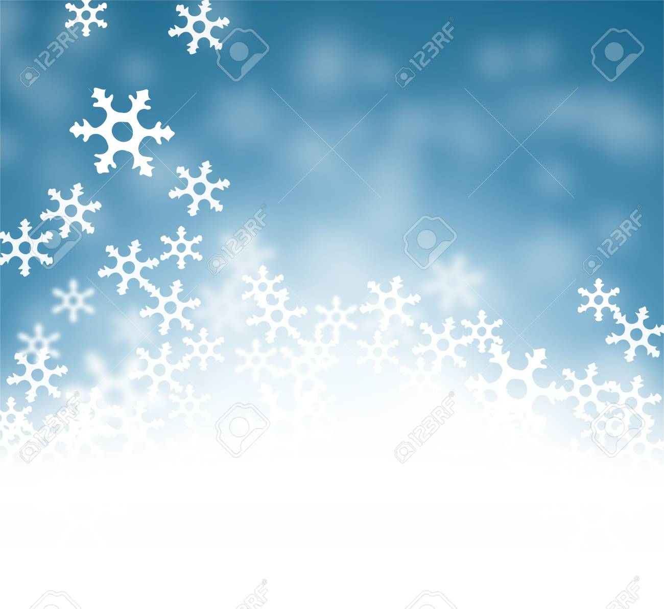 Merry Christmas Happy New Year abstract blue Background wallpaper..