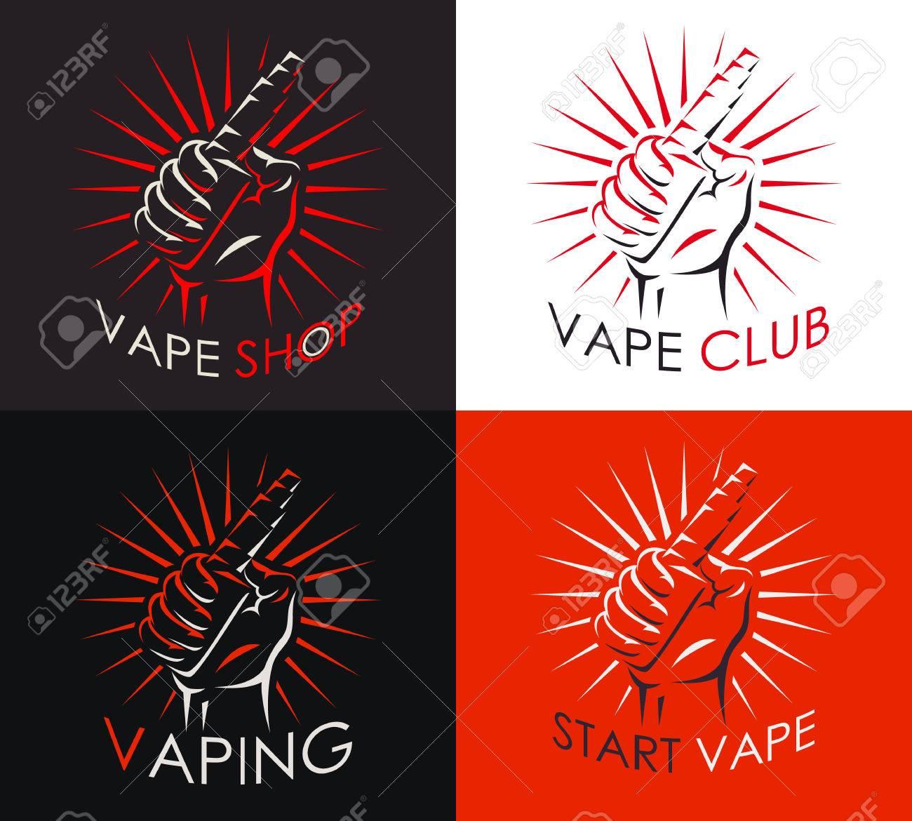 Art Vape Shop Logo Design