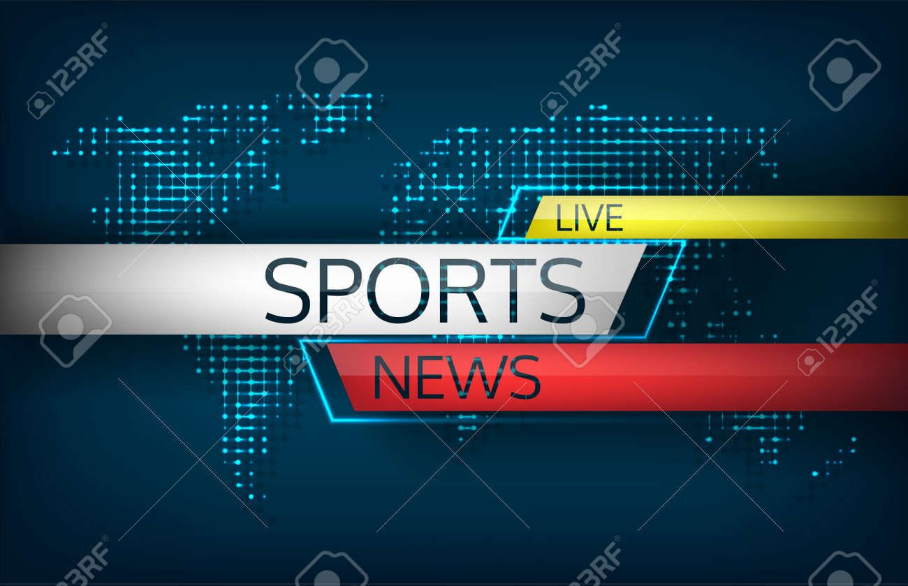 Sports news live on a background map of the world isolated vector sports news live on a background map of the world isolated vector illustration latest news gumiabroncs Image collections