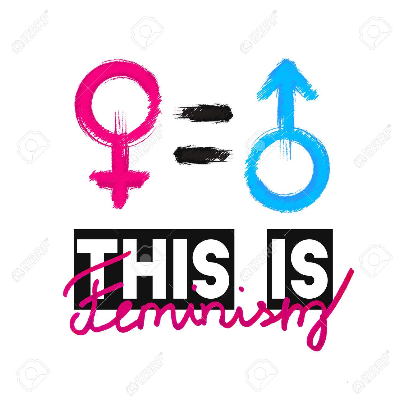 Fashion Slogan This Is Feminism. Feminist Slogan, Design T-shirt ...
