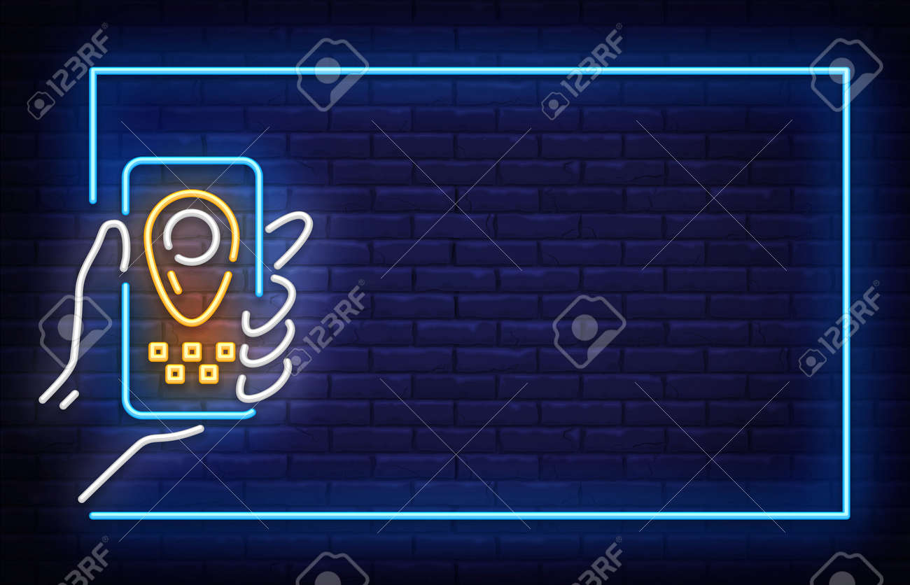 Taxi Neon Signboard In Frame Vector Taxi Neon Sign Design Template Royalty Free Cliparts Vectors And Stock Illustration Image 124789288