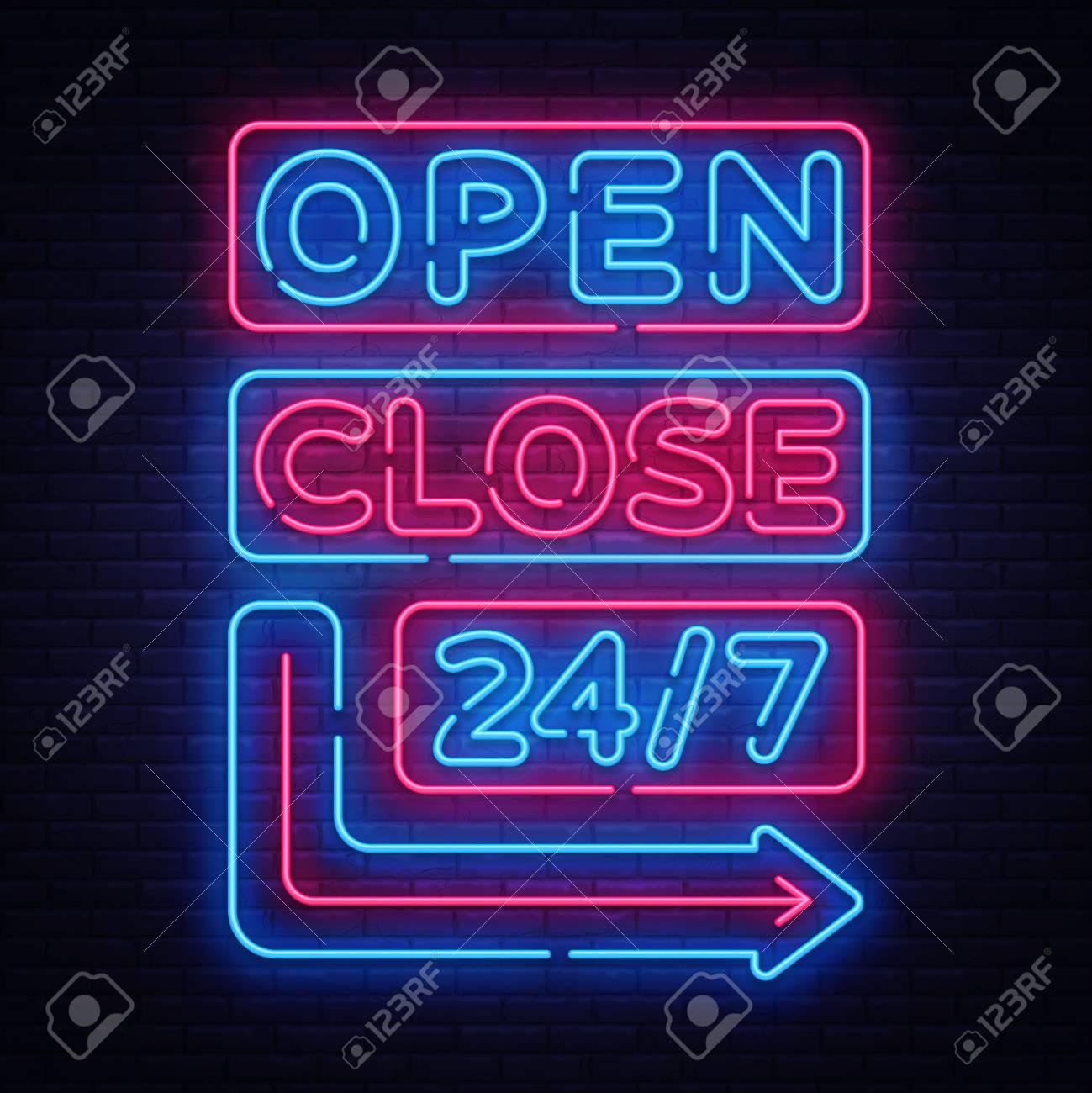 Neon Open sign painting neon sign neon nights handpainted neon sign