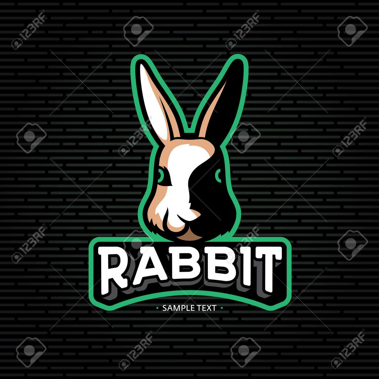 modern bunny outline www