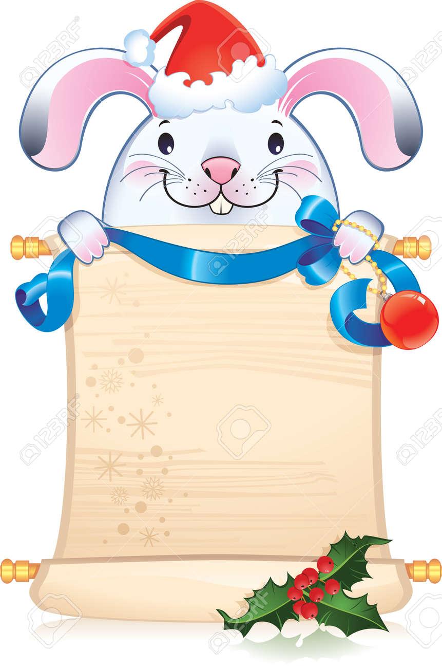White rabbit - symbol of Chinese horoscope - 8119473