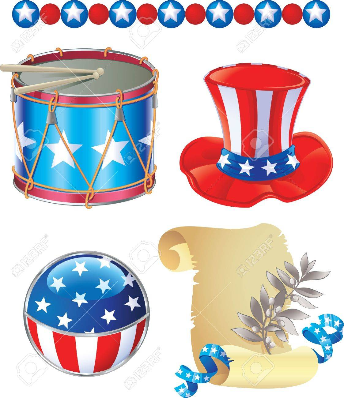 Independence Day symbols - 8912605