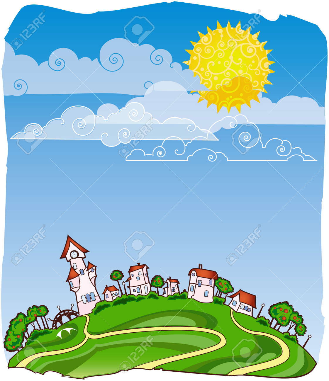 Sunny day poster - 8912614