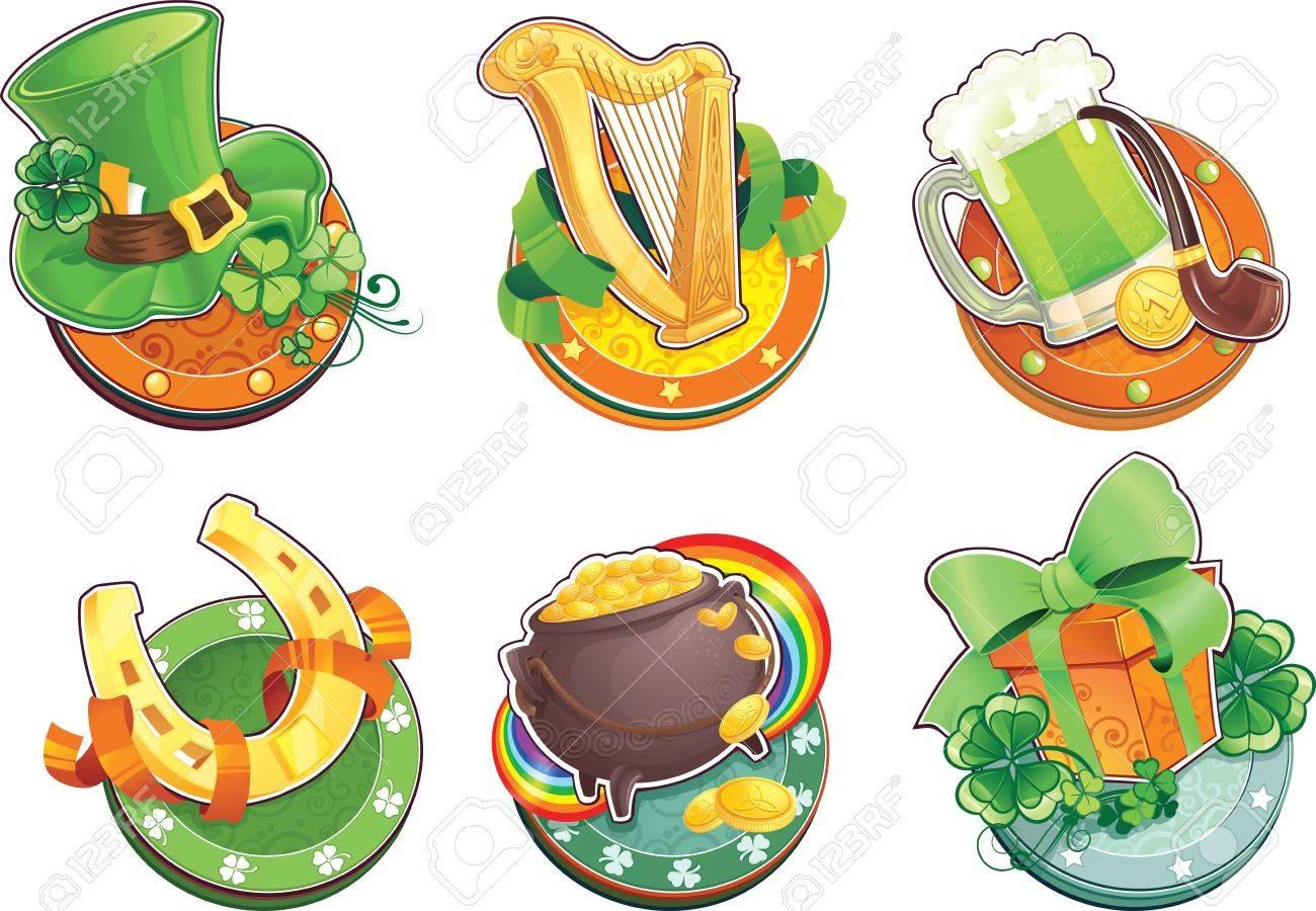 St Patrick s Day symbols - 17783569
