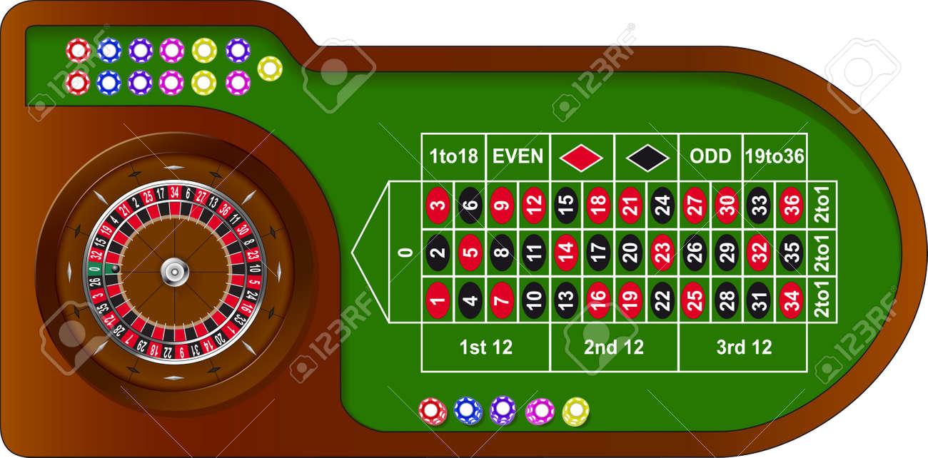 Contemporary Casino Table Game
