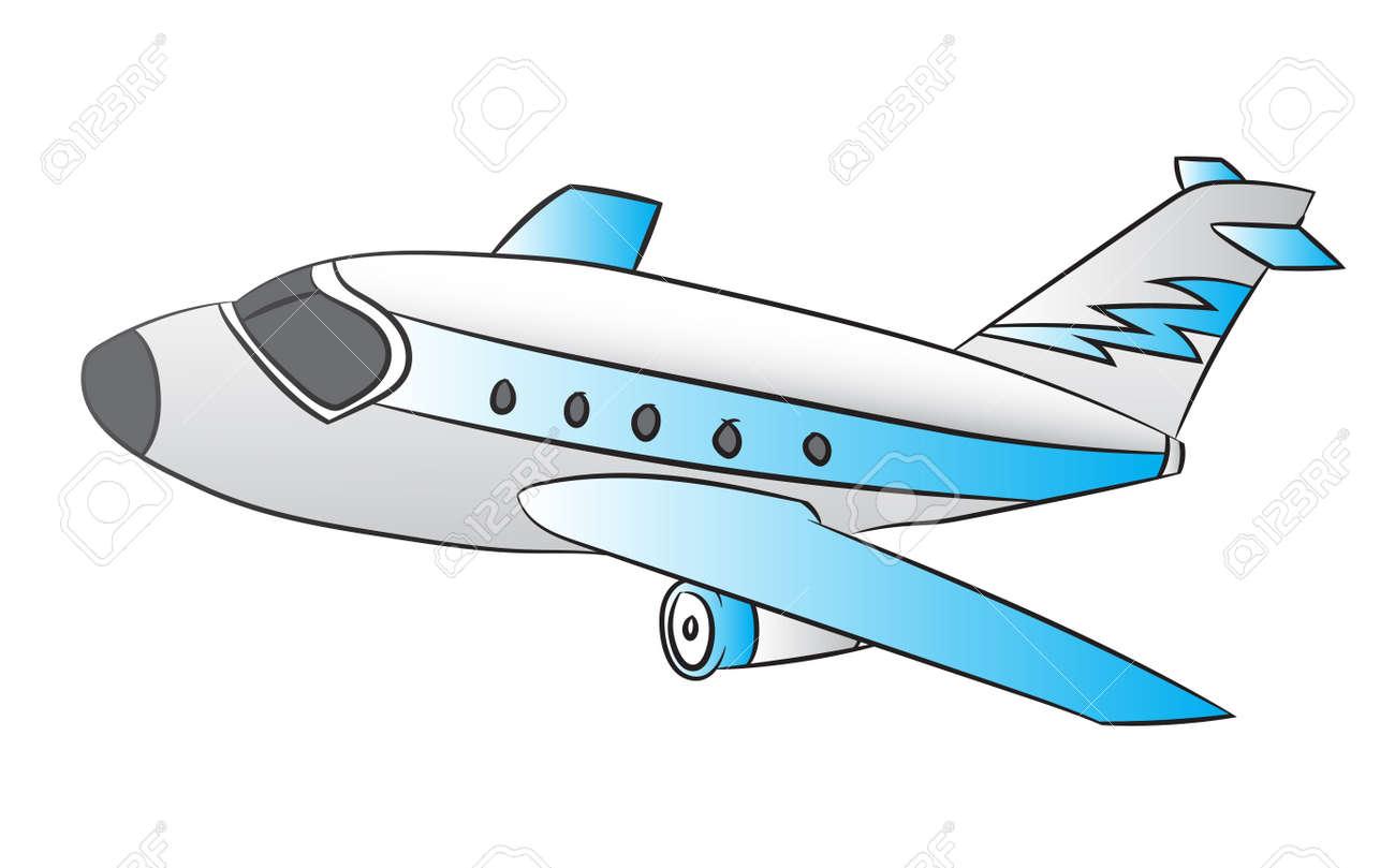 illustration of air plane on white background cartoon vector rh 123rf com cartoon planets images cartoon planet watch online