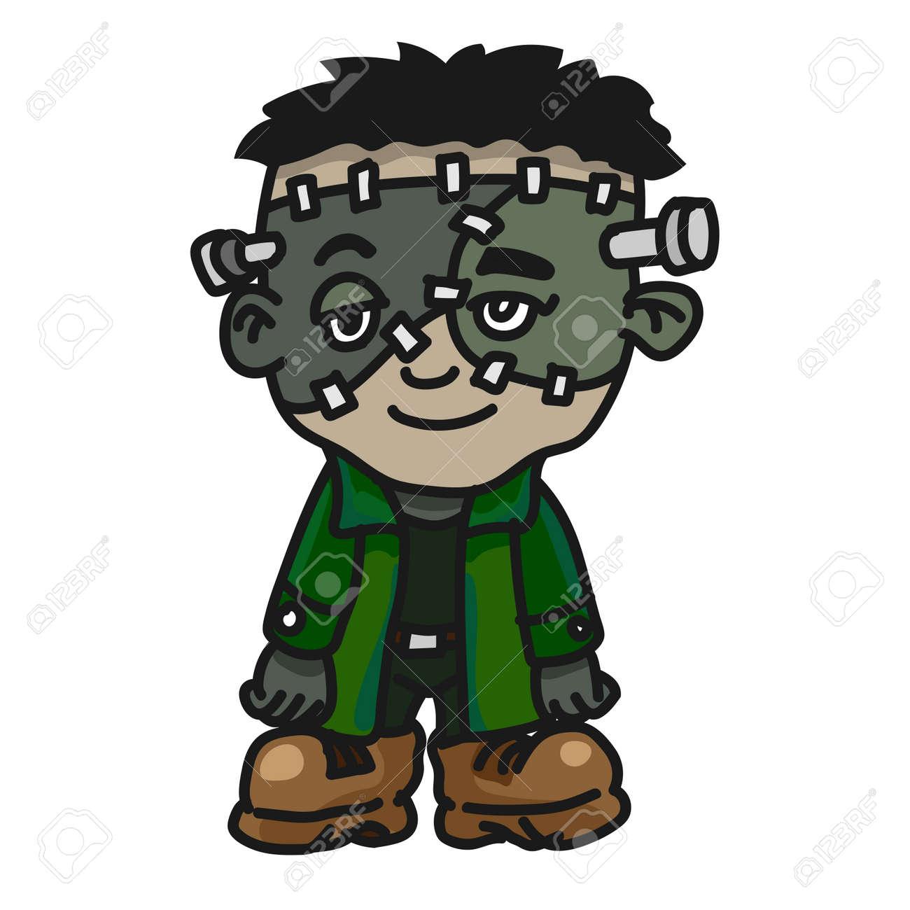 Magnífico Novia De Frankenstein Para Colorear Adorno - Dibujos Para ...