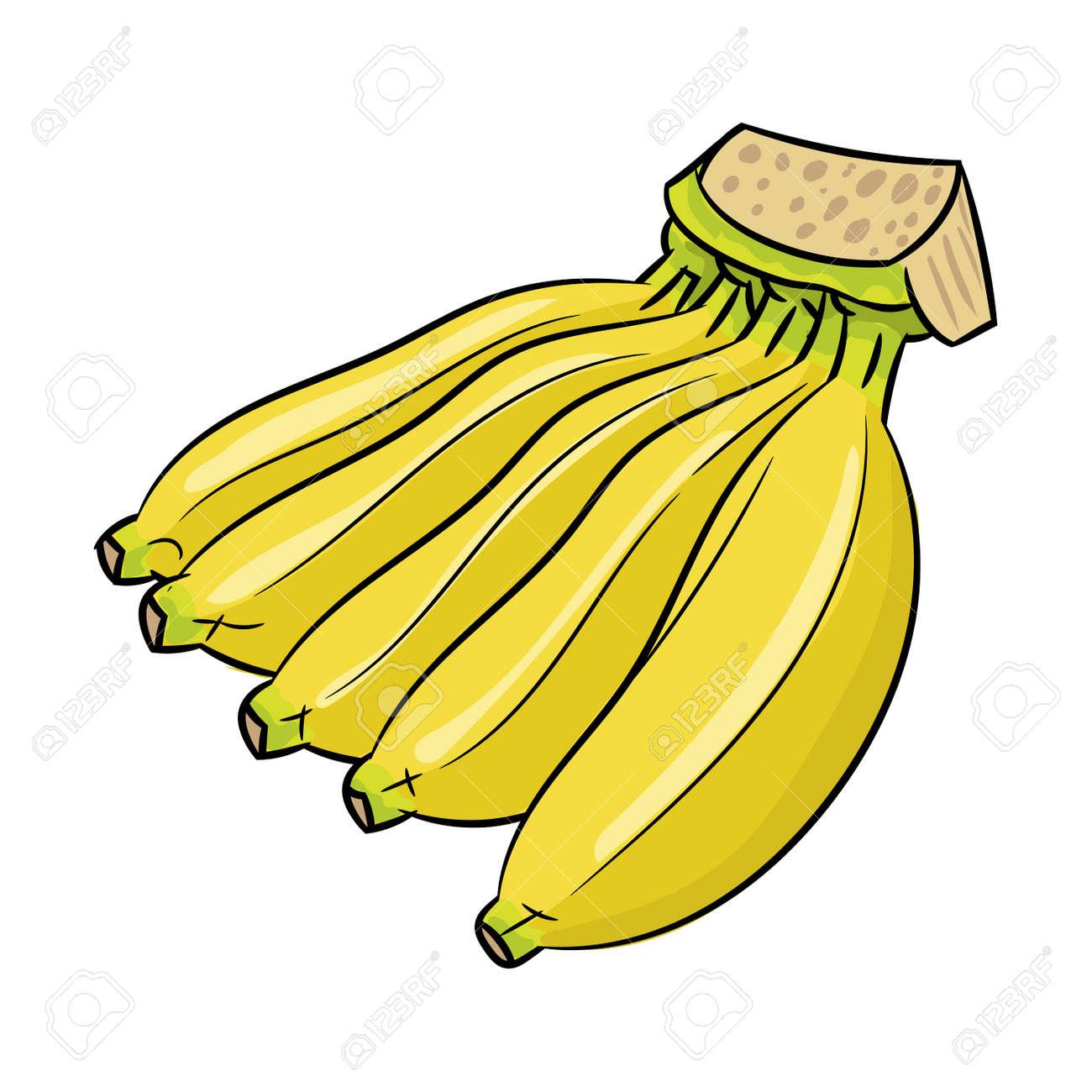 Banana Png Clipart - Cartoon Banana With Sunglasses Transparent Png  (#4903488) - PinClipart