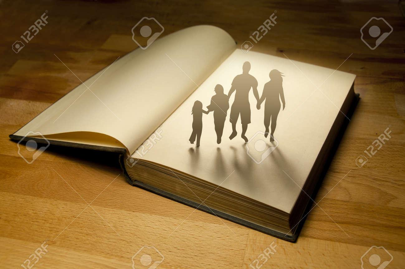 Family Book Story  Conceptual Stock Photo - 10465844