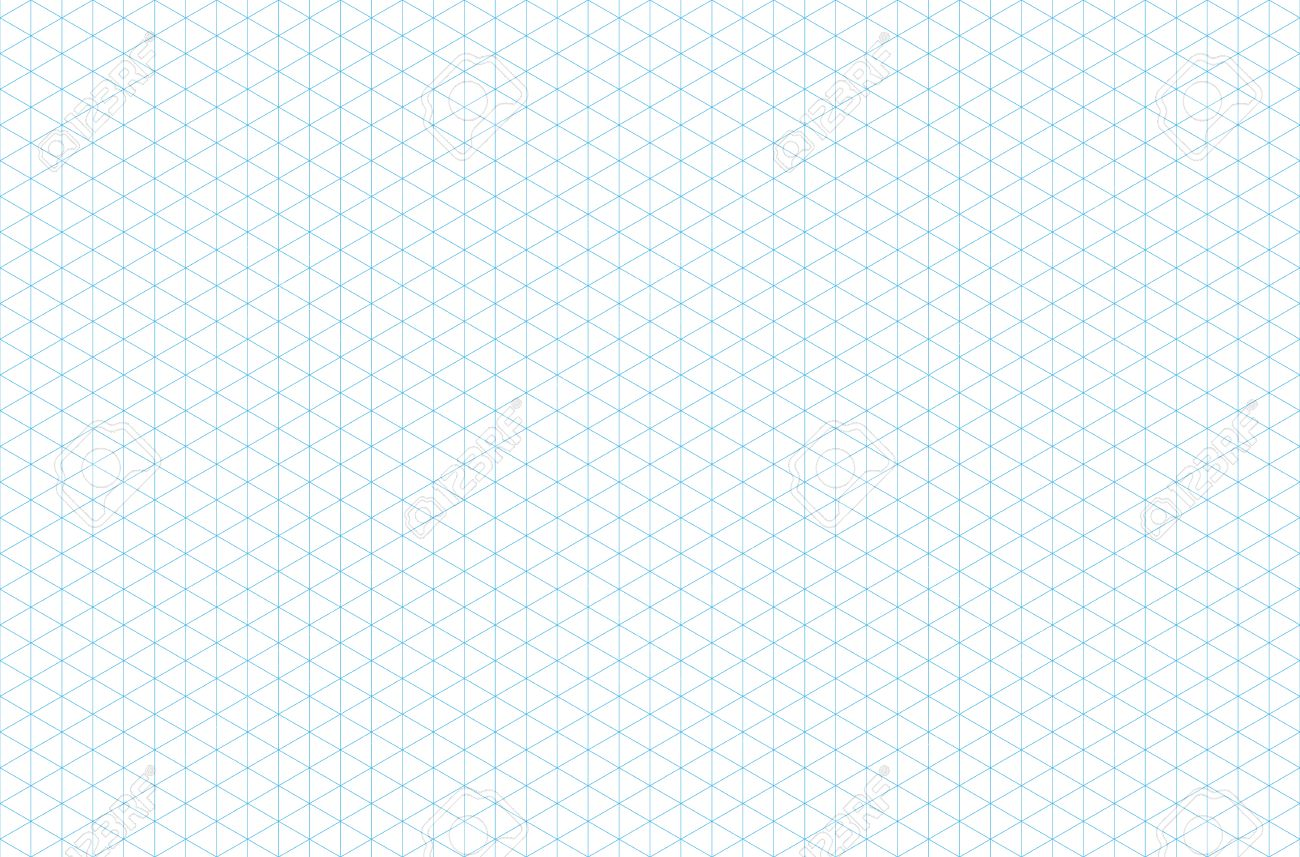 graphic about Printable Isometric Paper referred to as template isometric grid seamless habit, vector example,..
