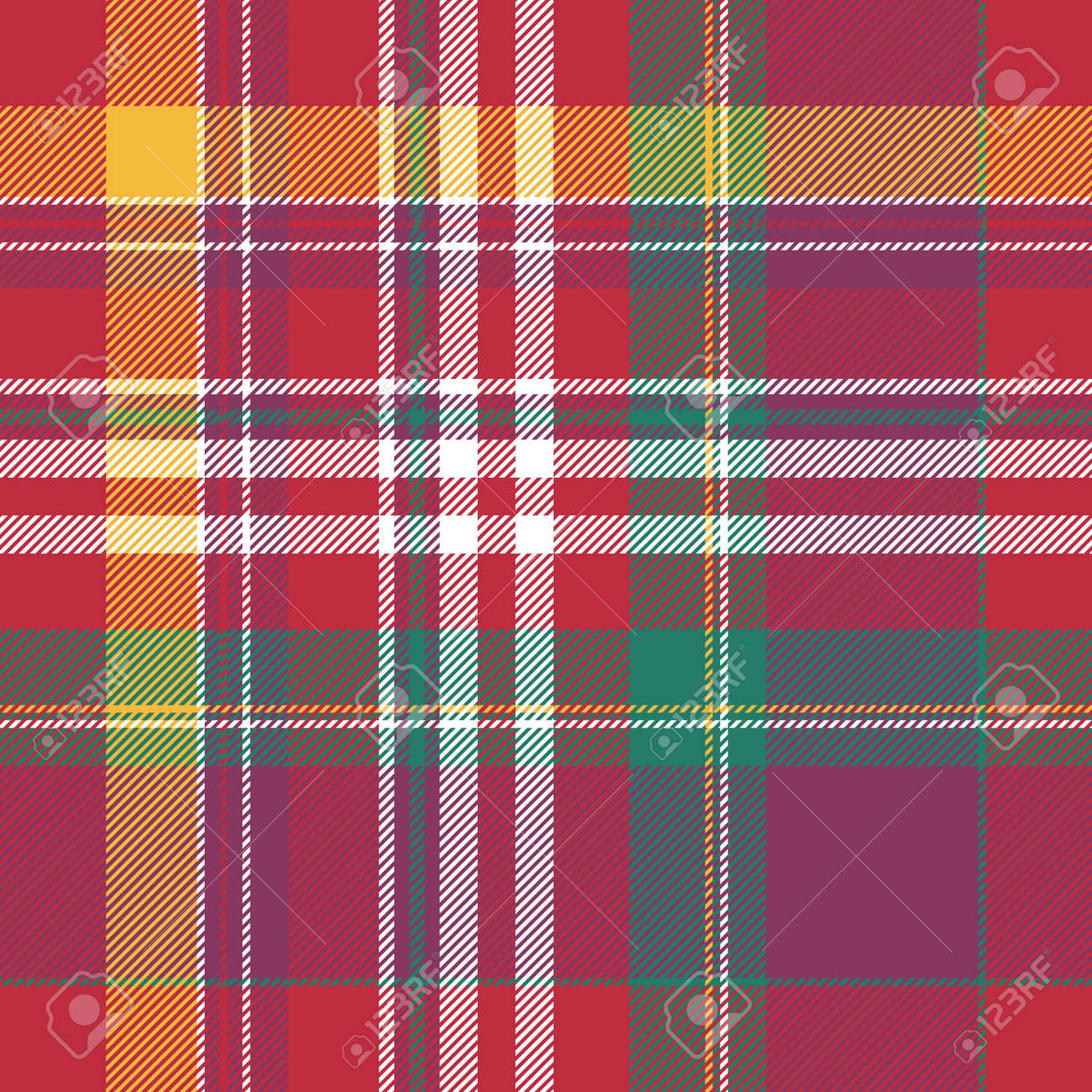 006b4f67f Modelo inconsútil del tartán rosado de la tela escocesa. Ilustracion  vectorial