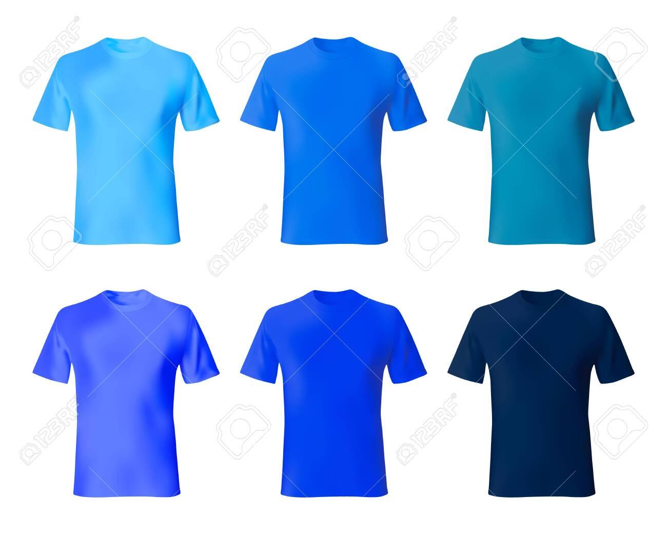Blue Shirt Design For Man Benjo