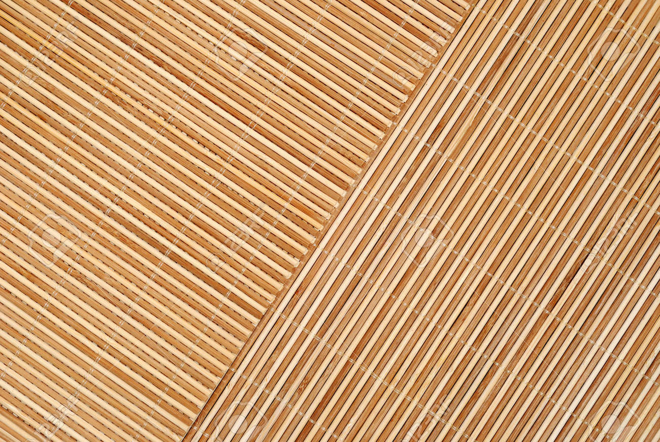 Close Up Background From Bamboo Table Cloth Stock Photo   4815266