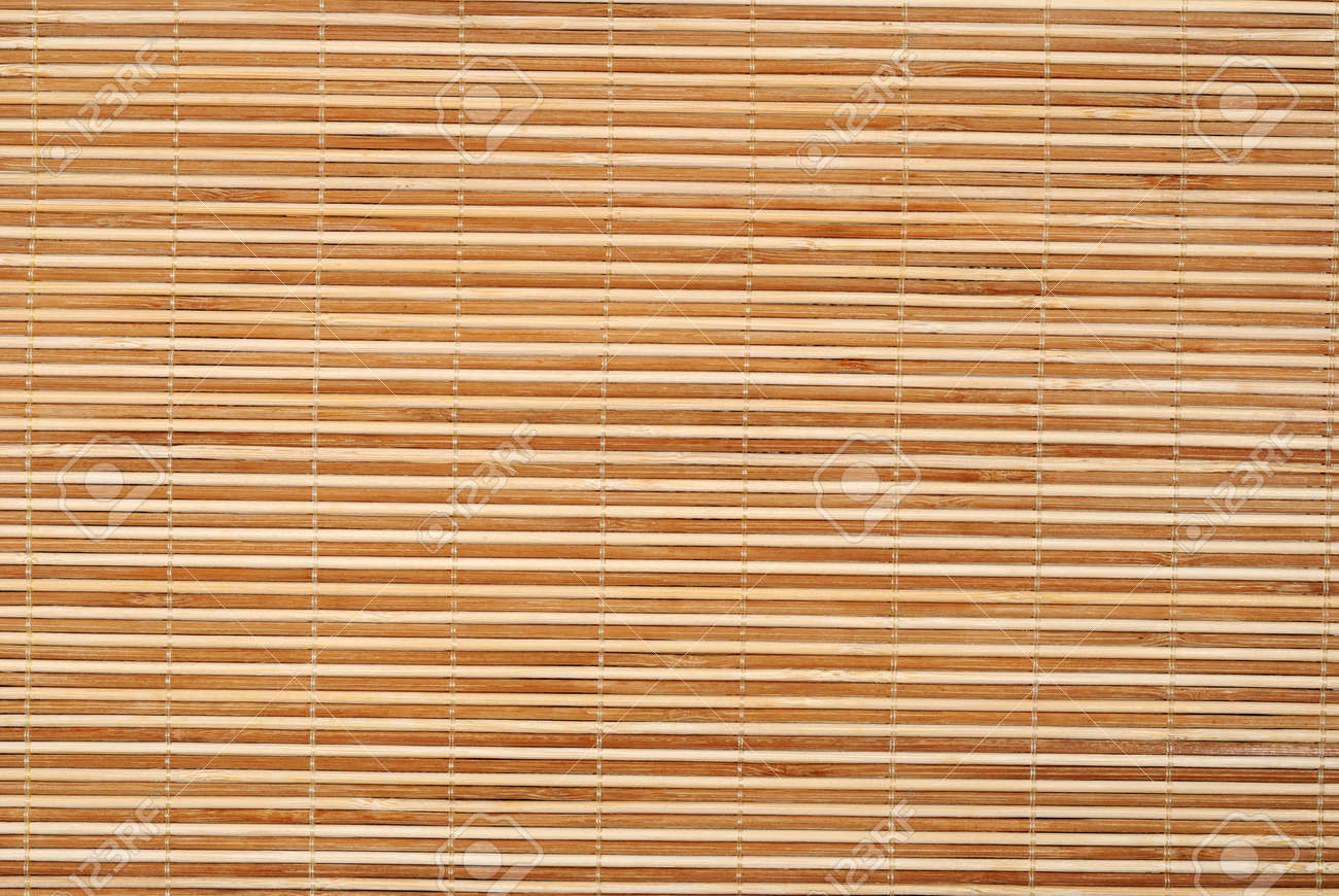 Delicieux Close Up Background From Bamboo Table Cloth Stock Photo   4890390