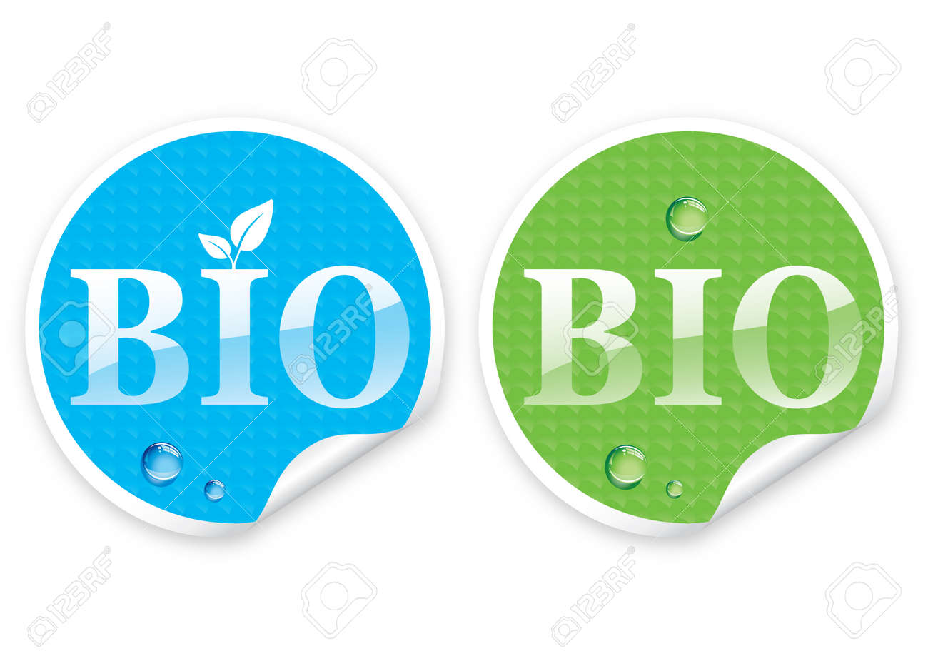 Illustration of sticker with a text Stock Vector - 8182436