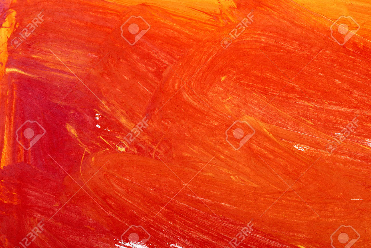 Red and yellow watercolor background Stock Photo - 12333094