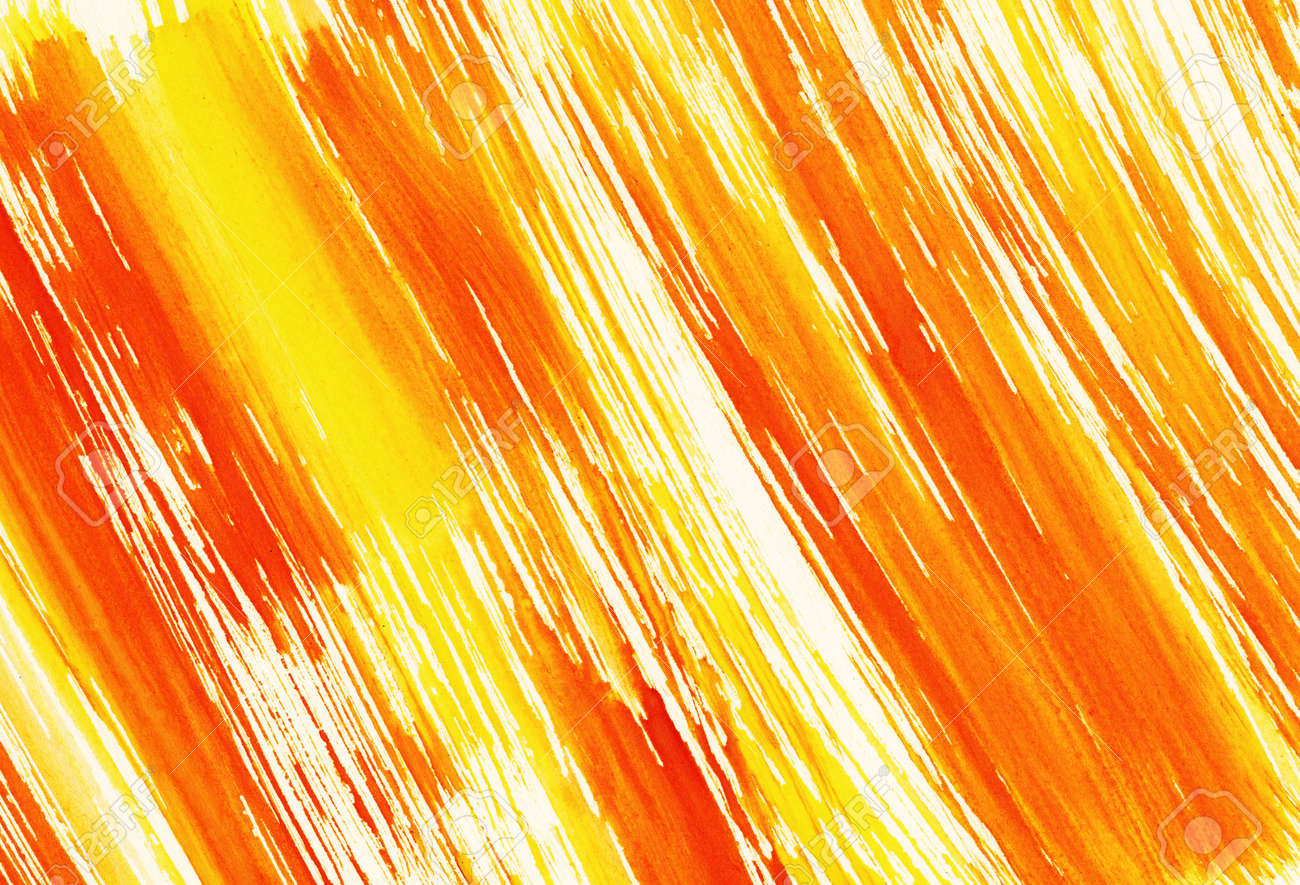 Abstract yellow background from watercolor Stock Photo - 16213139